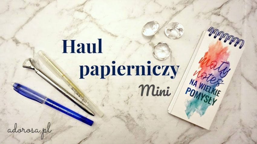 mini haul papierniczy
