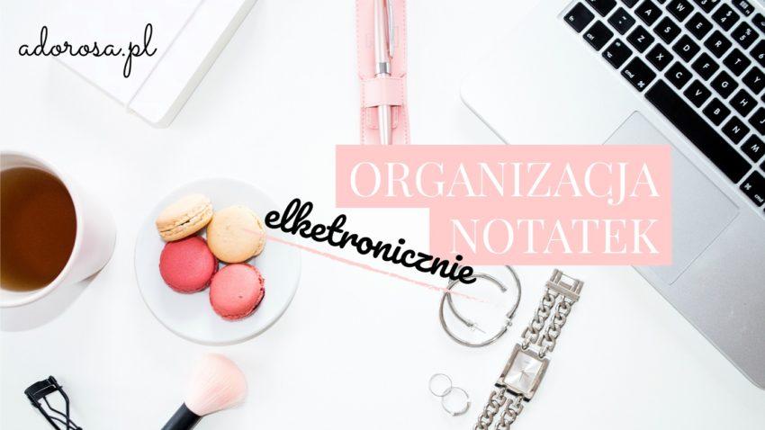 organizacja notatek