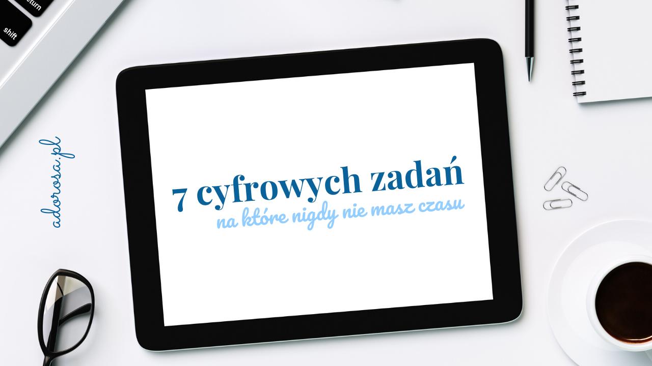 7 zadań